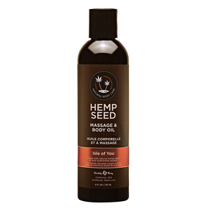 Huile de massage Hemp Seed - Isle of You
