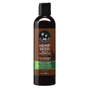 Huile de massage Hemp Seed - Naked in the Wood