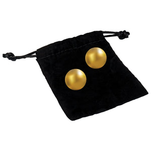 Oh K 24K Gold Plated Pleasure Balls