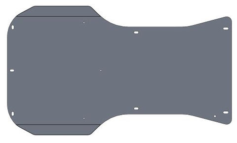 FLOOR TRAY FOR LE MANS- INVADER - MONZA (NOT PAINTED)