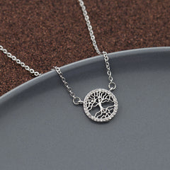 Family Tree Pendant Necklace
