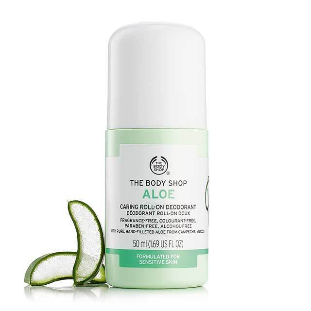 Aloe Caring Roll-On deodorant