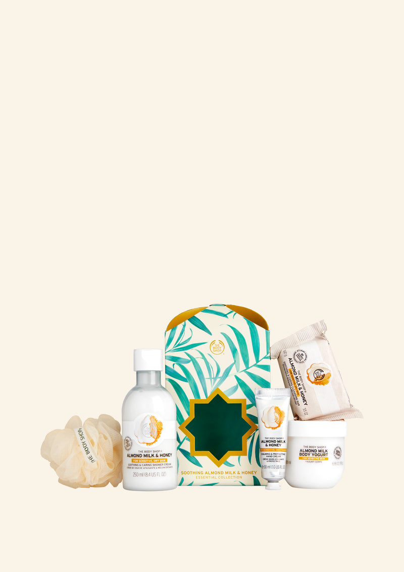 Soothing Almond Milk & Honey Essential Collection