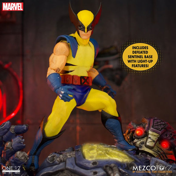Mezco ONE:12 Collective Wolverine Deluxe Steel Box Edition Action Figure