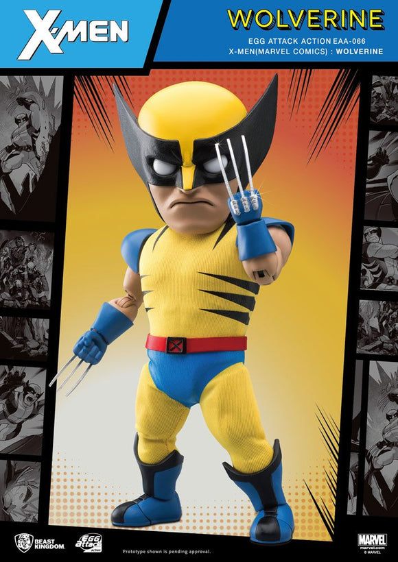 Marvel Egg Attack Action Figure Wolverine 17cm