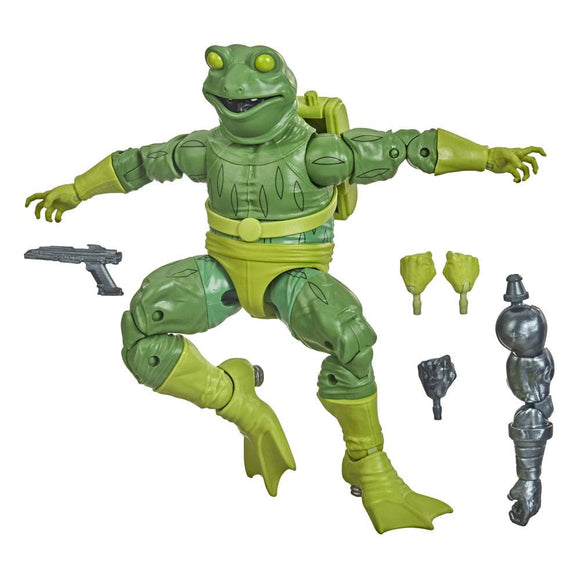 Marvel Legends Spider-Man: Into The Spider Verse Wave 1 Frog-Man