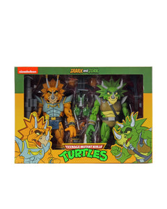NECA TMNT Cartoon Captain Zarax and Zork Action Figure 2-Pack