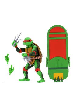 NECA TMNT Turtles in Time Raphael Action Figure