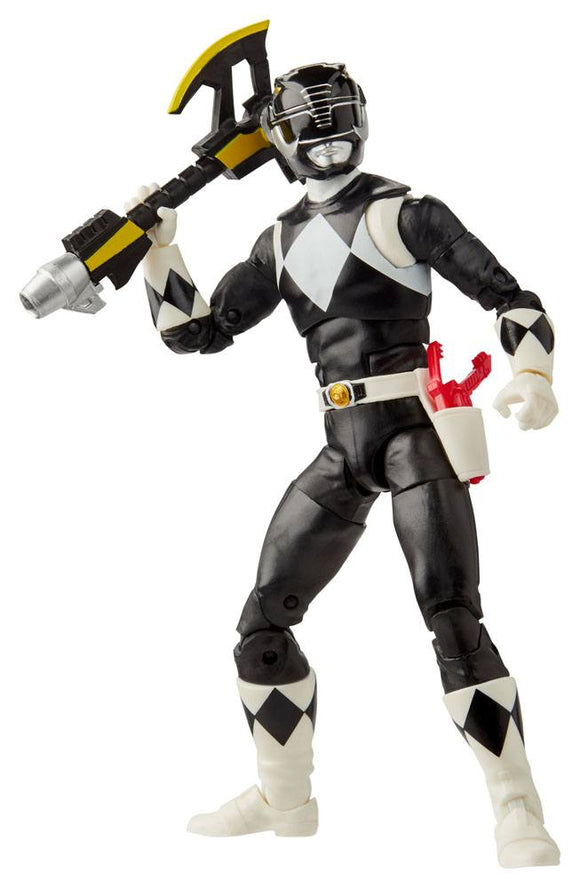 Power Rangers Lightning Collection MMPR Black Ranger Action Figure