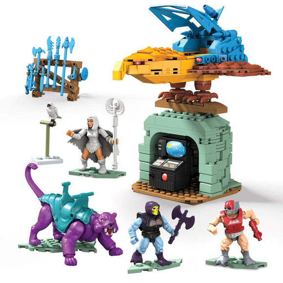 Masters of the Universe (MOTU) Mega Construx Probuilders Panthor at Point Dread