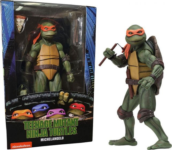 NECA Michelangelo TMNT Movie Action Figure