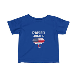 Infant Raised right t-shirts