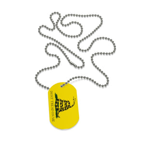 Dont Tread on me Dog Tag