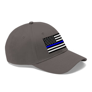 Police Flag Hat Embroidered