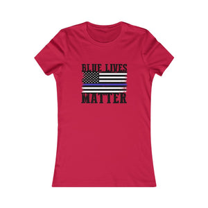 Women's Blue Lives Matter T-Shirt