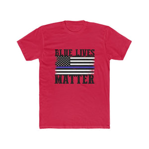 Mens Blue Lives Matter T-Shirt.