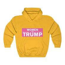 Load image into Gallery viewer, Women for Trump Hoodie