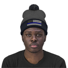 Load image into Gallery viewer, Police Flag Beanie
