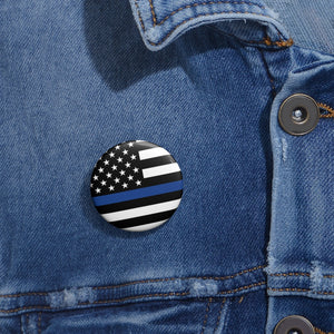 Blue Flag Pin
