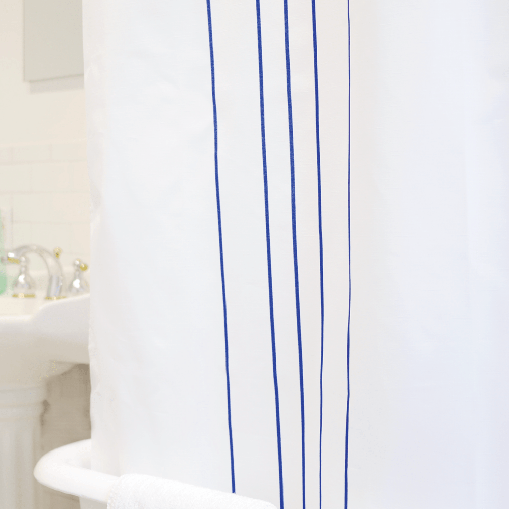 stripe: blue and white - Bathage
