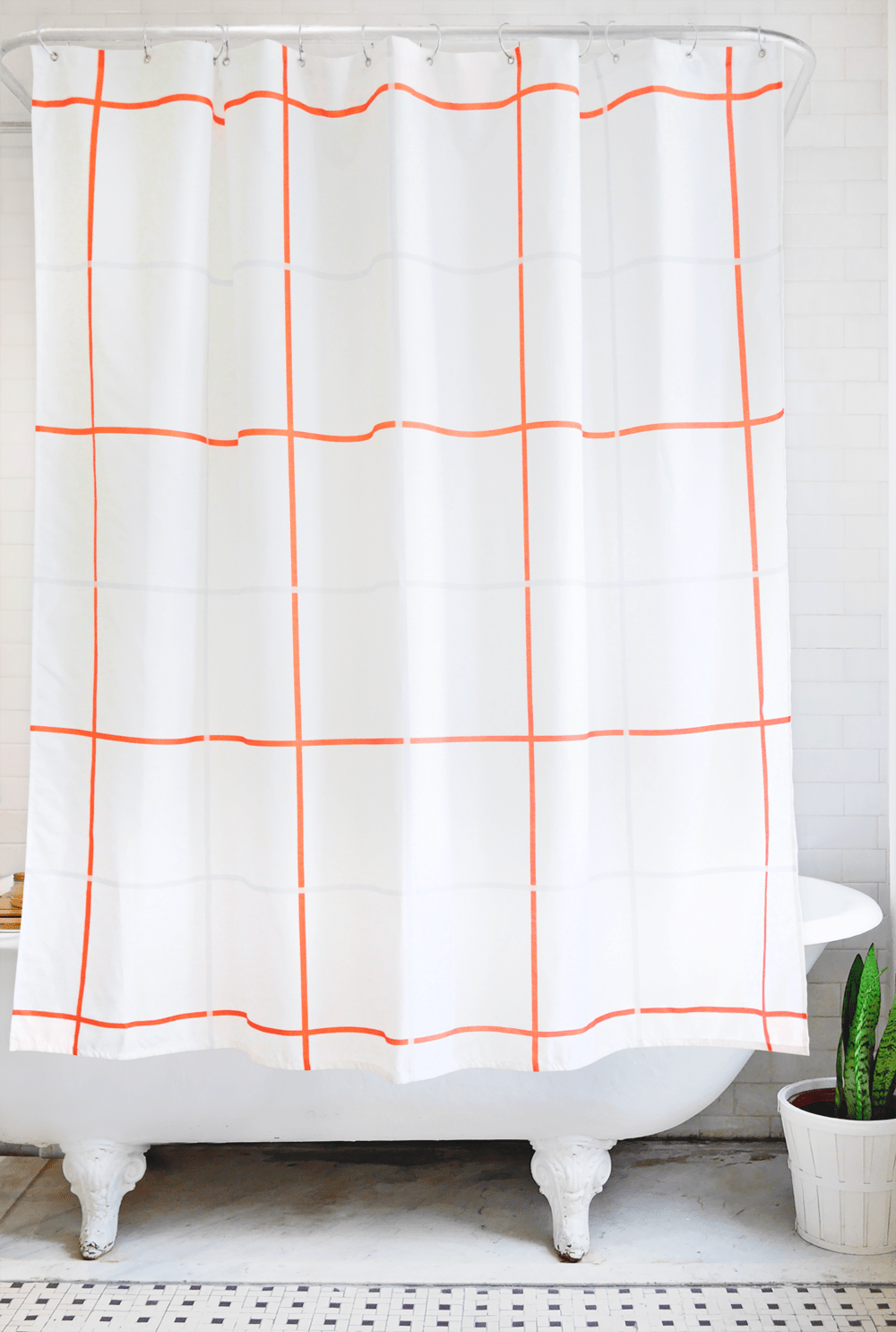 grid: orange and grey - Bathage