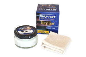 Shoe Polish REPTAN + Cotton Cloth 75ML