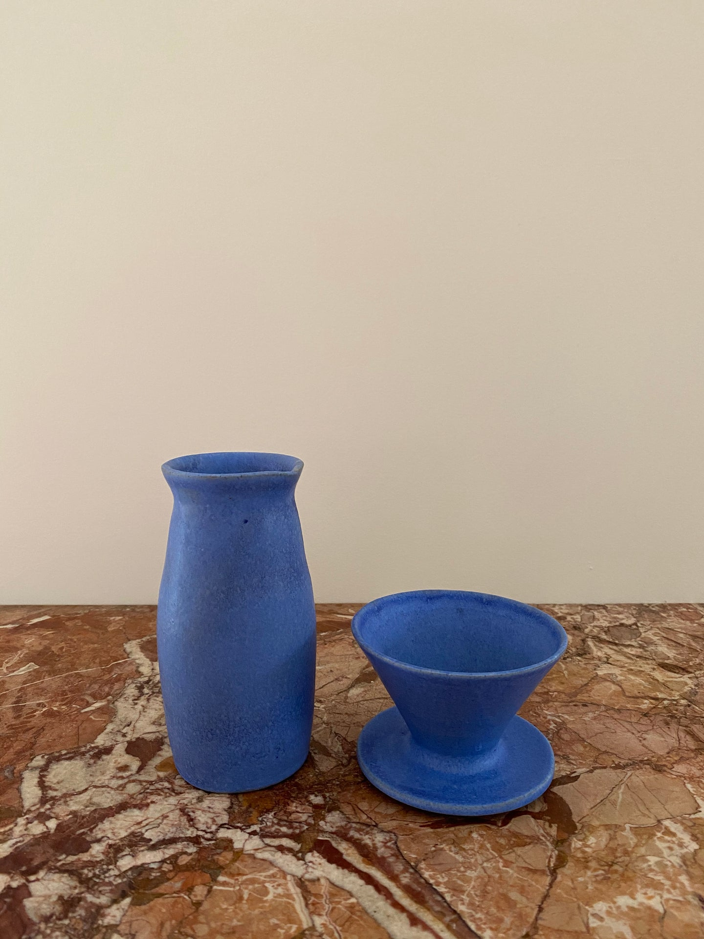 COBALT COFFEE POUR-OVER AND CARAFE