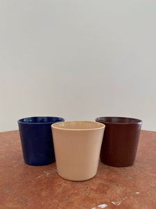 SILO BLUE CUP (SET OF 3)