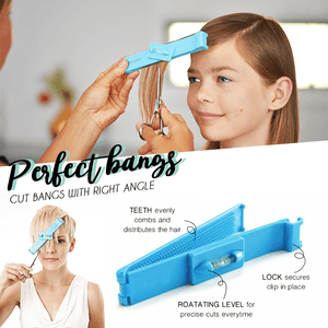Hair Cutting Level Clip Set (2pcs)