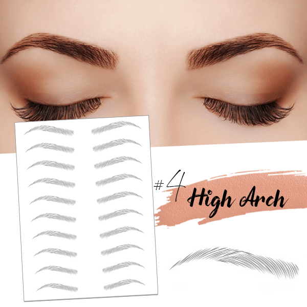 4D Hair-like Eyebrows (10 pairs)
