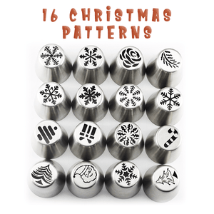 [50% OFF] Christmas Nozzles Pastry Set