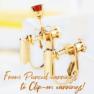 Clip-on Earring Converters
