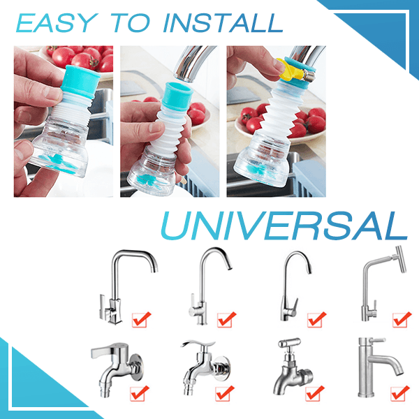 Universal Faucet Booster Filter