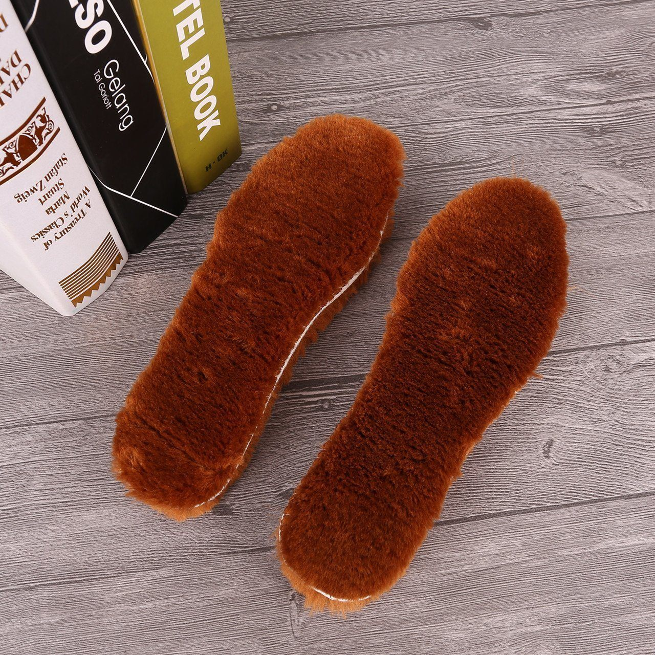 Winter Thermal Wool Insole Pads