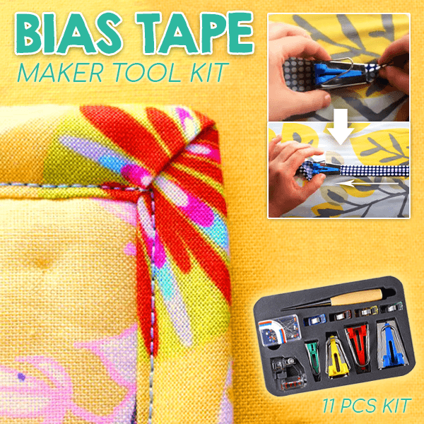 Bias Tape Maker Tool Kit