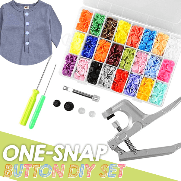 One-Snap Button DIY Set