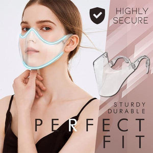 Minimal Transparent Mask Genius Solutions mikgoodies