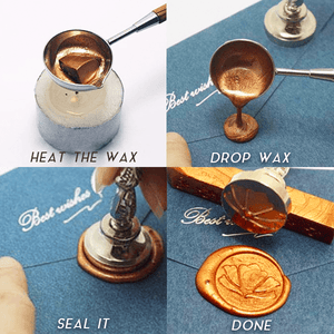 Custom-Made Wax Seal Stamp Set