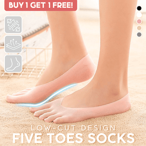 Low-cut Five Toes Socks (Buy 1 Get 1 Free)