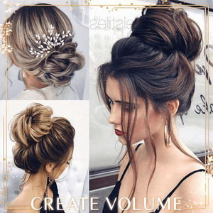Updo Curly Bun Extension (50% OFF) Beauty & Personal Care US Wishingoal
