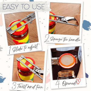 EasyOpen Adjustable Jar Opener