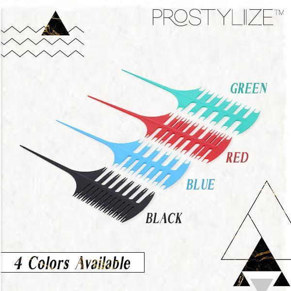 ProStyliize™ Multiuse Sectioning Comb Beauty & Personal Care mikgoodies Red