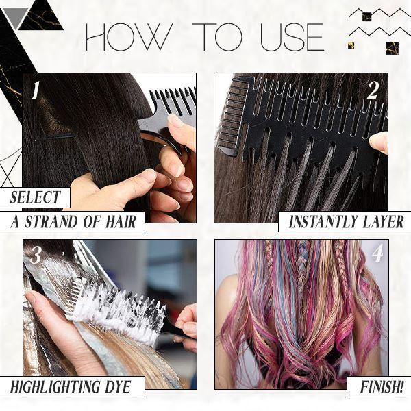 ProStyliize™ Multiuse Sectioning Comb Beauty & Personal Care mikgoodies