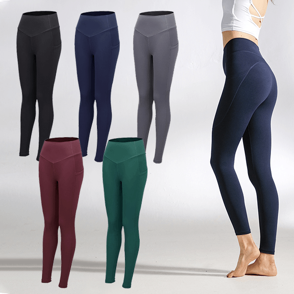 Women High Waist Compression Leggings