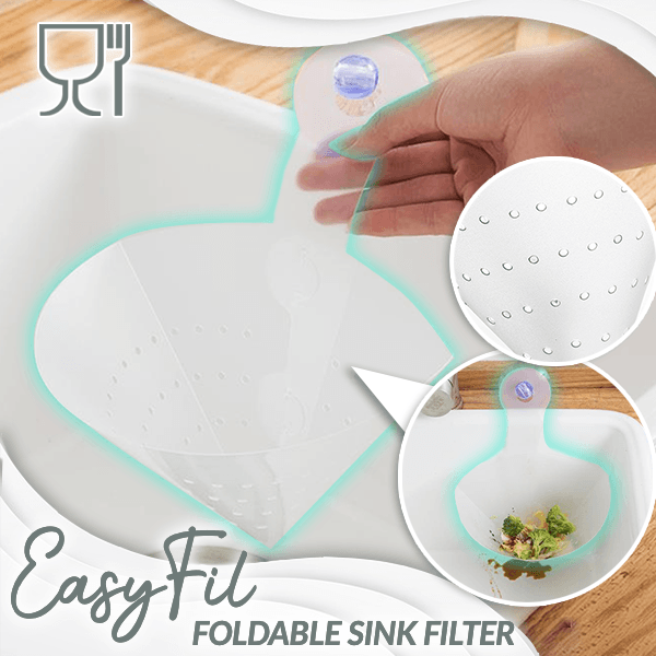 EasyFil Foldable Sink Filter