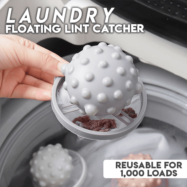 Floating Laundry Lint Catcher