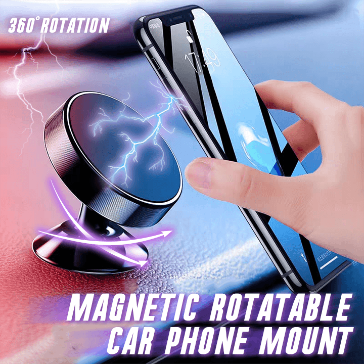 Magnetic Rotatable Car Phone Mount