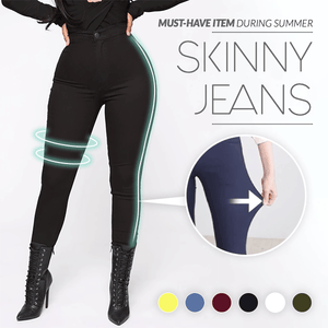 Solid Skinny Fit Jeans