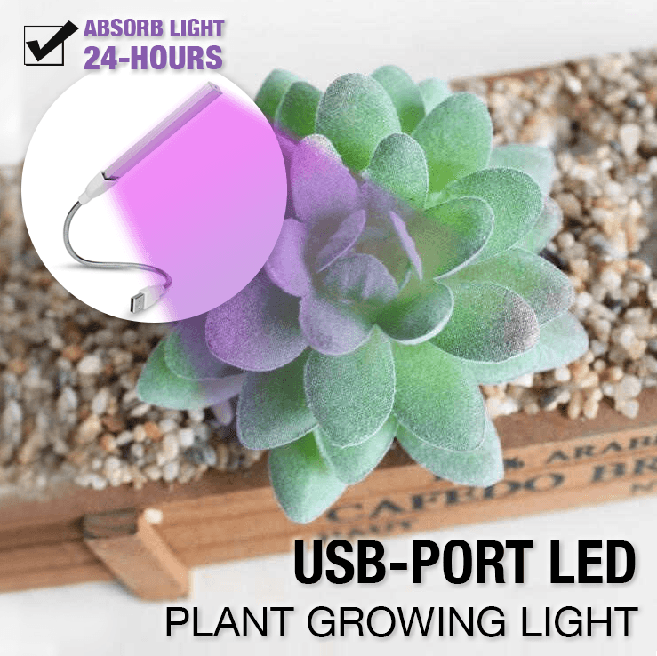 USB-port LED Plant Growing Light