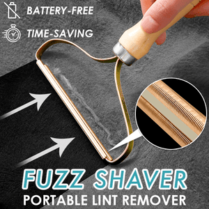 Portable Lint Remover Fuzz Shaver